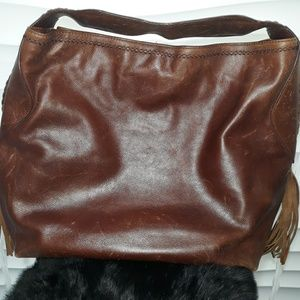 Cole Haan Sierra SP06 Leather Shoulder Bag